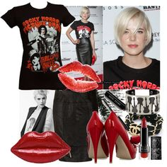 """""""Agyness Deyn at the Inglourious Basterds screening"""" by bittersweet89 on Polyvore"""