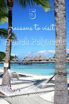 Some top reasons to visit the islands of Tahiti, Bora-Bora and Moorea in French Polynesia.