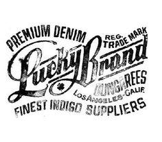 Lucky Brand Design Inspiration
