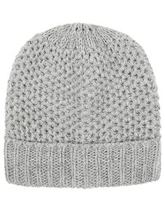 In a classic chunky knit, our beanie hat will put a stylish spin on all your cold-weather outfits. This cosy design features a ribbed turn-up detail. Accessorize Bags, Cold Weather Outfits, Beanie Hats, Spin, Cosy, Women's Accessories, Crochet Hats, Xmas, Purses