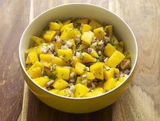 "Macho Mango Salsa is a great one to make to bring to a friends bash, or to serve as a topping for my Pulled Pork Tacos or Spicy Veggie Chili. Why ""Macho""? This one packs a punch! Super Bowl, Raw Food Recipes, Healthy Recipes, Party Recipes, Clean Eating, Healthy Eating, Healthy Food, Mango Salsa Recipes, Pulled Pork Tacos"
