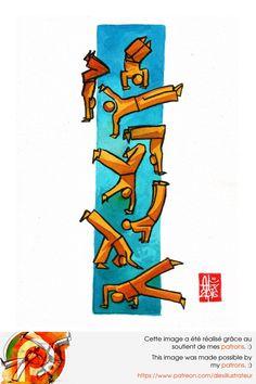 Illustration : Capoeira – 1017