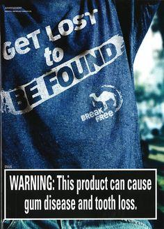 <a href='http://www.tobaccofreekids.org/ad_gallery/category/magazine'>Magazine</a>, <a href='http://www.tobaccofreekids.org/ad_gallery/category/reynolds_american'>Reynolds American</a>, <a href='http://www.tobaccofreekids.org/ad_gallery/category/rj_reynolds_tobacco'>R. J. Reynolds Tobacco Company (RJR)</a>, <a href='http://www.tobaccofreekids.org/ad_gallery/category/camel'>Camel</a>, <a href='http://www.tobaccofreekids.org/ad_gallery/category/united_states'>United States</a> <br><br…