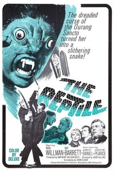 The Reptile (1966) Hammer Film