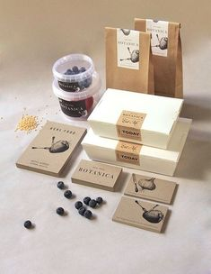 Branding + Packaging - can consider for the delivery service as well