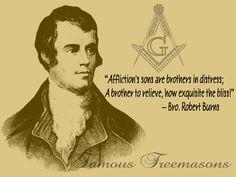 Brother Robert Burns