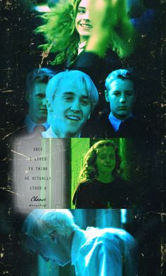 I liked to think we actually stood a chance - Draco and Hermione