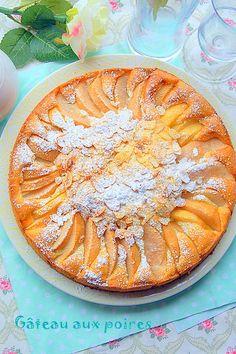 Gâteau aux poires facile