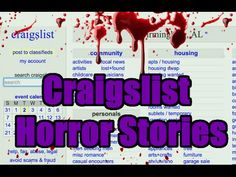 1e9d620ce8 3 Scary True Craigslist Horror Stories - Vol. 4