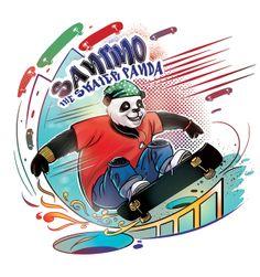 skater panda