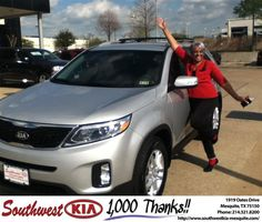 https://flic.kr/p/HKhEWT | #HappyBirthday to Pearlie from JERRY TONUBBEE at Southwest Kia Mesquite! | deliverymaxx.com/DealerReviews.aspx?DealerCode=VNDX