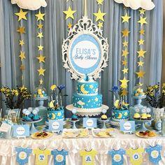Twinkle Twinkle Little Star Baby Shower Party Ideas | Photo 1 of 8