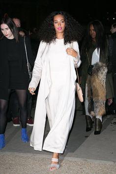 Solange's Best Street Style Looks from Paris Fashion Week
