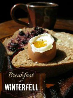 Breakfast at Winterfell.