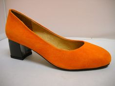 Bresley Delicia available in Black, Azure, Orange and Snow Leapord suede court with patent squared heel. T Dress, Dress Shoes, Court Heels, Out To Lunch, Work Wear, Peep Toe, High Heels, Footwear, Snow