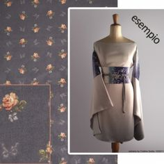 Custom #Kimori based on kimono & haori | Italian stylist astriaha  at the Shopping Mall, € 249,00 (approx $305)