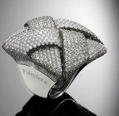 Idée et inspiration Bague Diamant : Image Description Palmiero-intreccio quadrato-web-mar 2013
