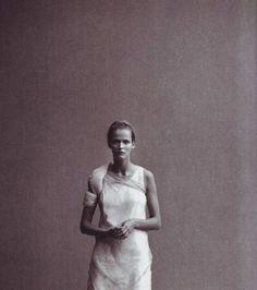 Bias cut dress by Helmut Lang