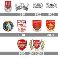 Arsenal is a famous British football club, which was established in 1886 by David Danskin. British Football, Retro Football, Football Fans, Arsenal Badge, Arsenal Fc, Soccer Logo, Soccer Teams, Arsenal Tattoo, Fa Logo