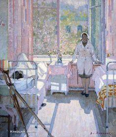 Данилюк Владимир Александрович (Россия, 1919) «Месяц май» 1979