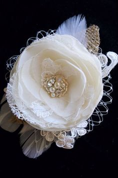 hair accessory or inspiration for a boutonniere.