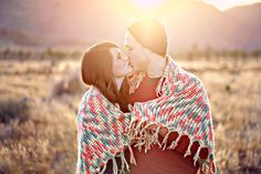 I love the blanket #photography #couples #enagement