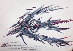 """Conquer Consquard"" This space ship from Andromeda and has long kilometer. Alien Spaceship, Spaceship Design, Spaceship Concept, Space Ship Concept Art, Concept Ships, Sci Fi Spaceships, Accel World, Space Fantasy, Fantasy Sword"