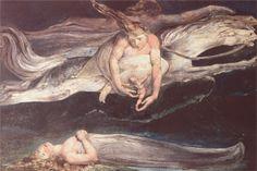 William Blake : Illustration to Dante's Divine Comedy