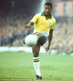 #1 - Pele, Brazil... The greatest football player of all time.