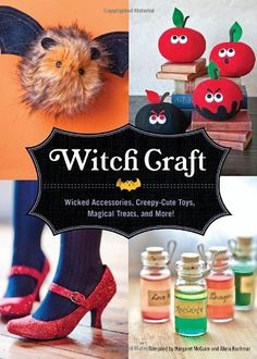 Witch Craft Wicked Assesories Spellbinding Jewelry Creepycute Toys and More by Margaret McGuire Illustrated 1 Oct 2010 Hardcover >>> Continue to the product at the image link-affiliate link. #JewelryAccessories