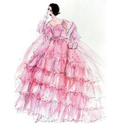 Robert Best  fashion illustrations(¯`'•.ೋ