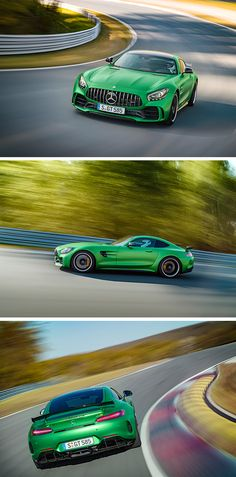 World premiere of the new Mercedes-AMG GT R sports car on 24 June 2016 in Brooklands, UK at the Goodwood Festival of Speed. #BeastoftheGreenHell [Combined fuel consumption: 11.4 l/100 km | Combined CO2 emissions: 259 g/km | http://benz.me/EfficiencyStatement]