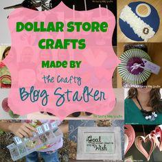 Dollar Store Craft Tutorials
