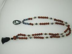 "108 + 1 Beads Crystal Hematite Rudraksha Japamala - Stone for the Mind ""Tarini Jewels"" Mogul Interior,http://www.amazon.com/dp/B00FOH7VVK/ref=cm_sw_r_pi_dp_xGTusb11N9EC01JS"