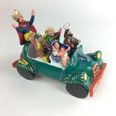 Ortega Nativity Scene in a Car