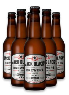 JACK BLACK LAGER #craftbeer Beers Of The World, Jack Black, Craft Beer, Beer Bottle, Liquor, Clock, African, Drinks, Crafts