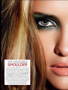 Charlotte Tilbury for Glamour magazine