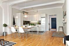 cocina rustica abierta al salon - Buscar con Google