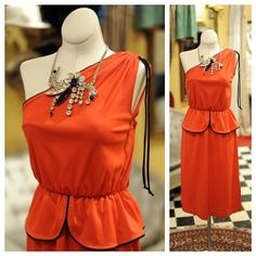 Cabaret Vintage - 1970s Vintage Little Red Dress, $145.00 (http://www.cabaretvintage.com/dresses/1970s-vintage-little-red-dress/)