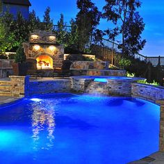 Pool Pool Lighting Design, Pictures, Remodel, Decor and Ideas