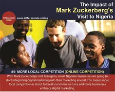 The Impact of Mark Zuckerberg's Visit to Nigeria: A Digital Marketing Perspective - 5). More Local Competition