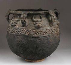 Bamum, Cameroon Pot  University of Iowa Museum of Art Digital Collection