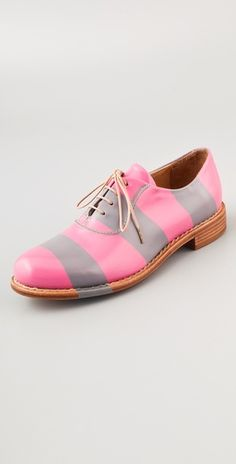 You would not catch me wearing these striped oxfords. However, it takes a right personality and outfit to pull this off. So, these make the cut.