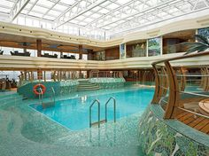 BEST ALL-WEATHER SWIMMING MSC Cruises  On MSC's Fantasia and Splendida, the vast and airy indoor pool complex has a retractable glass roof that can open in summer and close in winter. Many ships have retractable roofs. What makes these pools particularly special is the cheerful, convivial, and even sometimes chaotic feel, which ensures that, rain or shine, this is where the action is. The décor is jazzy, and because these vessels appeal so strongly to Europeans, there's definitely a great…