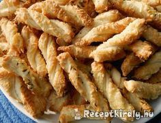 Hungarian Desserts, Hungarian Cuisine, Hungarian Recipes, Snack Recipes, Dessert Recipes, Cooking Recipes, Healthy Recipes, Ital Food, Savory Pastry