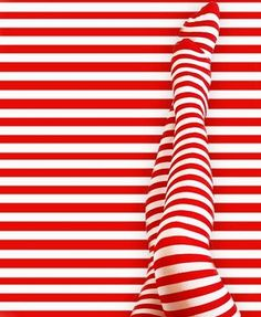 candy cane for big kids. 60's op art, ad,tights (LIFE)