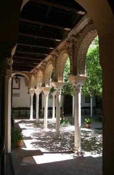 Patio, Casa de los Pinelo, Sevilla