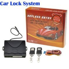 Car Remote Central Lock Kit Keyless Entry System with Remote Controller by new brand. $9.20. Description: This Keyless Entry System offers lock, unlock and trunk release. It includes 2-button transmitters and features a compact control module for ease of installation.  Features: Remotely lock and unlock your car. Remote car location. Remotely release the boot/trunk. Learning code remote controls. Electric lock and air lock. Flashing alert. LED indicator. Suitable for all...