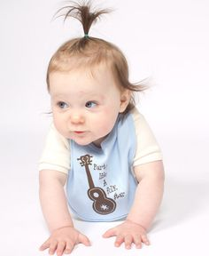 #Organic Baby Bibs: party like a folk star! :)