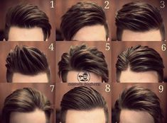 Mens hairstyles - Amazing Male Hair Styles That Match With Your Face Shapes Cool Hairstyles For Men, Hairstyles Haircuts, Haircuts For Men, Short Haircuts, Popular Haircuts, Barber Haircuts, Haircut Men, Latest Hairstyles, Hairstyle For Man
